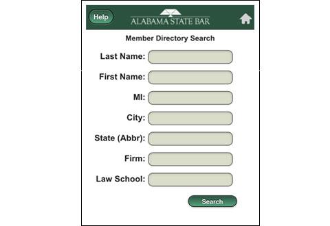 image of alabama state bar directory