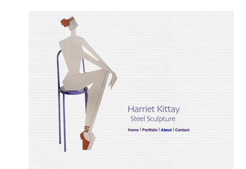 image of harriet kittay website